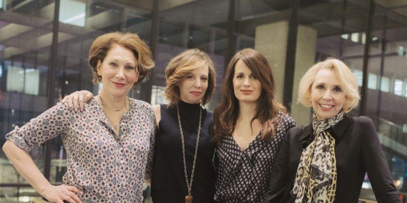 The Women of The Babylon Line: Maddie Corman, Randy Graff, Julie Halston, and Elizabeth Reaser