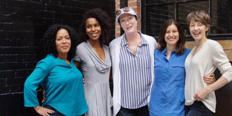"Carrie Coon, Liza Colón-Zayas, Danaya Esperanza, Susan Pourfar, and Brenda Wehle on ""Mary Jane"""